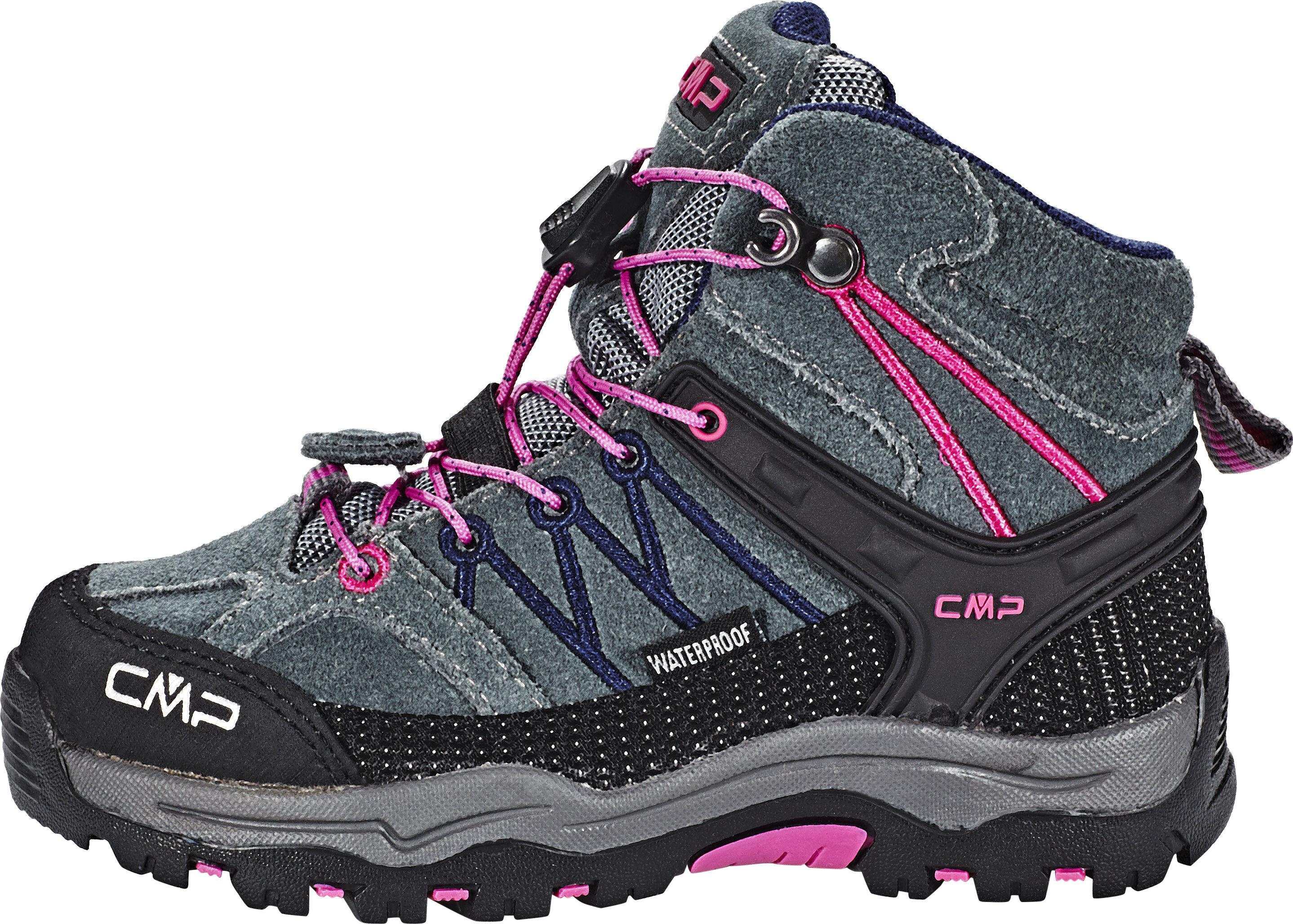 987dc96e50814c CMP Campagnolo Rigel Mid WP Schoenen Kinderen grijs/roze l Outdoor ...